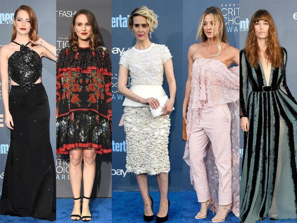 Parade Wanita Cantik di Critics Choice Awards 2016