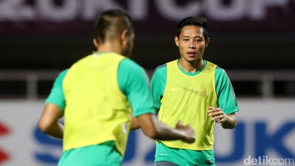 Tanpa Luis Milla, Timnas Indonesia Fokus Latihan Hadapi Mauritius