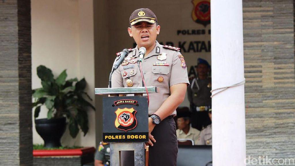 Polres Bogor Terjunkan Kekuatan Penuh untuk Laga Final di Stadion Pakansari