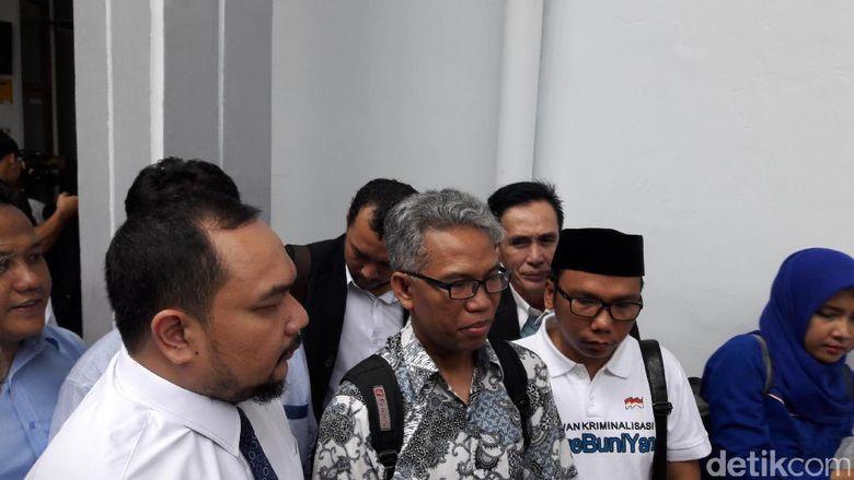 Tiba di PN Jaksel, Buni Yani Mengaku Sering Diancam dan Diteror