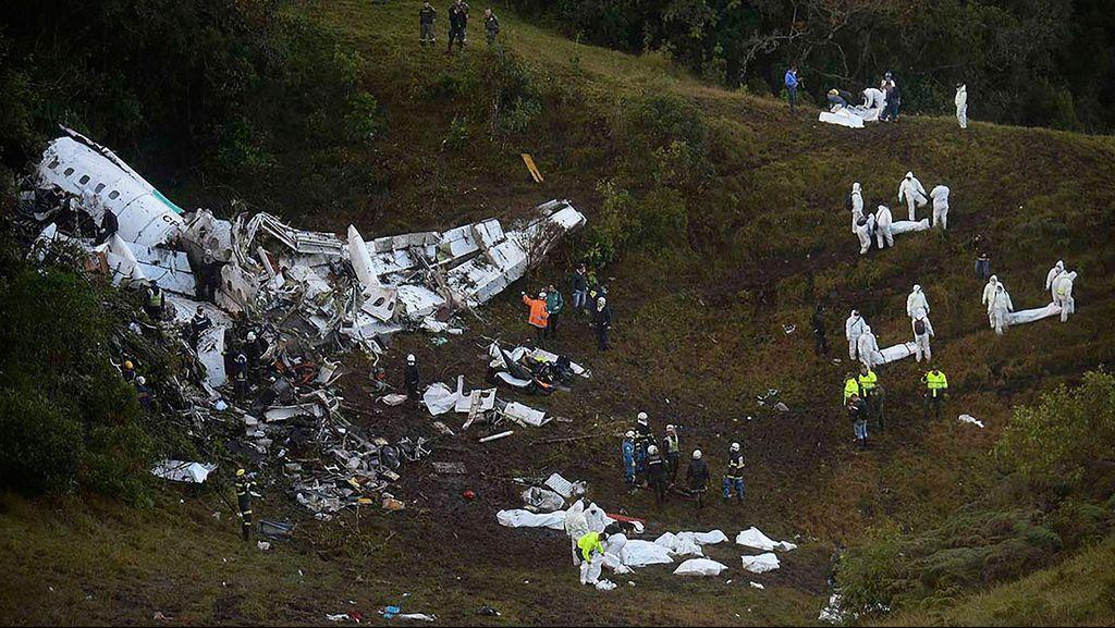 Tak Ada Perintah Soal Sabuk Pengaman Jelang Kecelakaan Pesawat di Kolombia