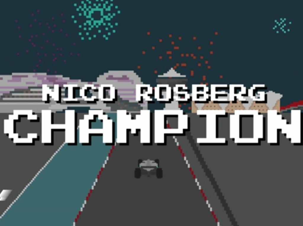 Rangkuman Keren F1 2016 Bergaya Video Game Jadul