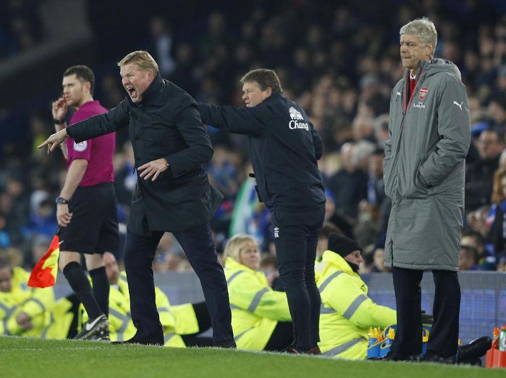 Koeman Sindir Kegemaran Wenger Kritik Wasit Usai Kalah dari Everton