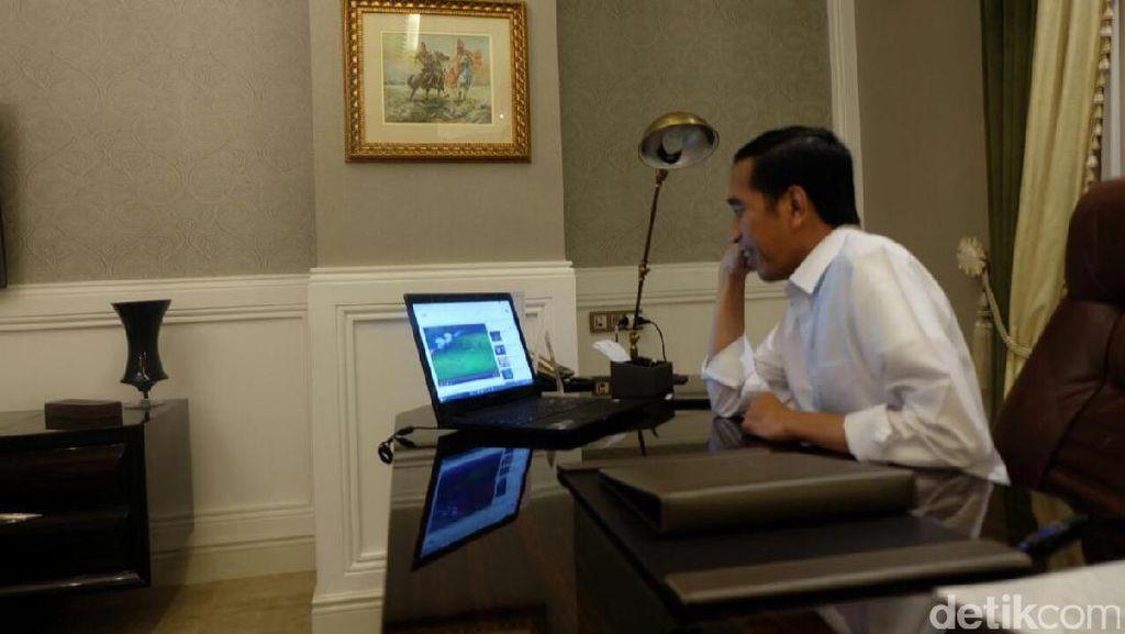 Giliran Laptop Jokowi Bikin Penasaran