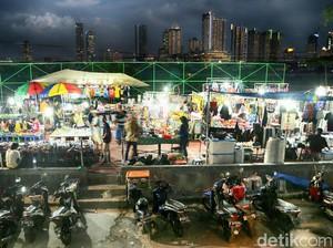 Pasar Malam di Jantung Jakarta