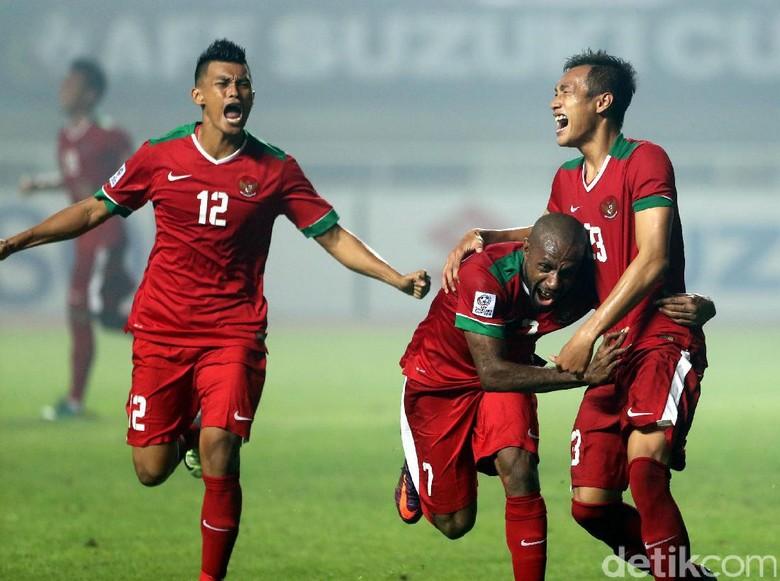 Comeback, Indonesia Kalahkan Thailand 2-1