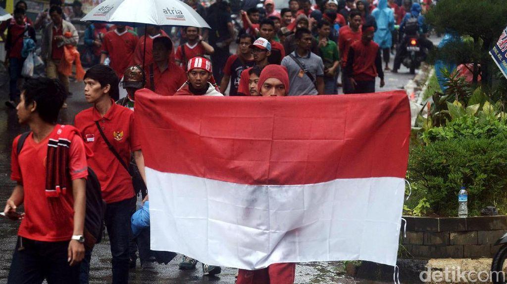Antusiasme Suporter Indonesia di Final Piala AFF 2016
