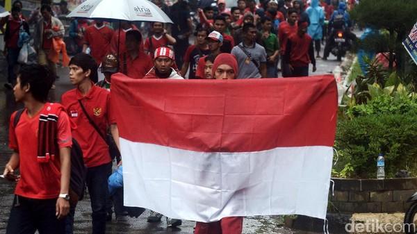 Skuat Garuda Harapkan Dukungan Suporter Indonesia di Rajamangala