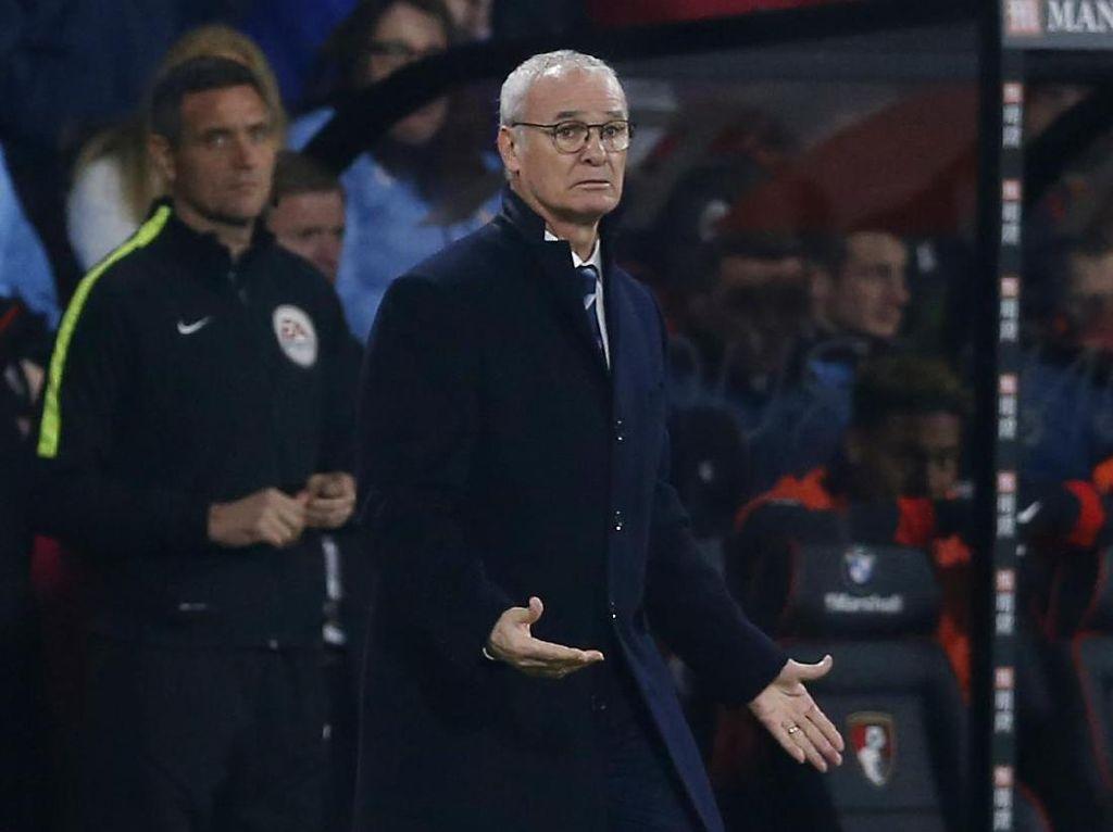 Ranieri: Leicester Layak Dapat Hasil Lebih Baik