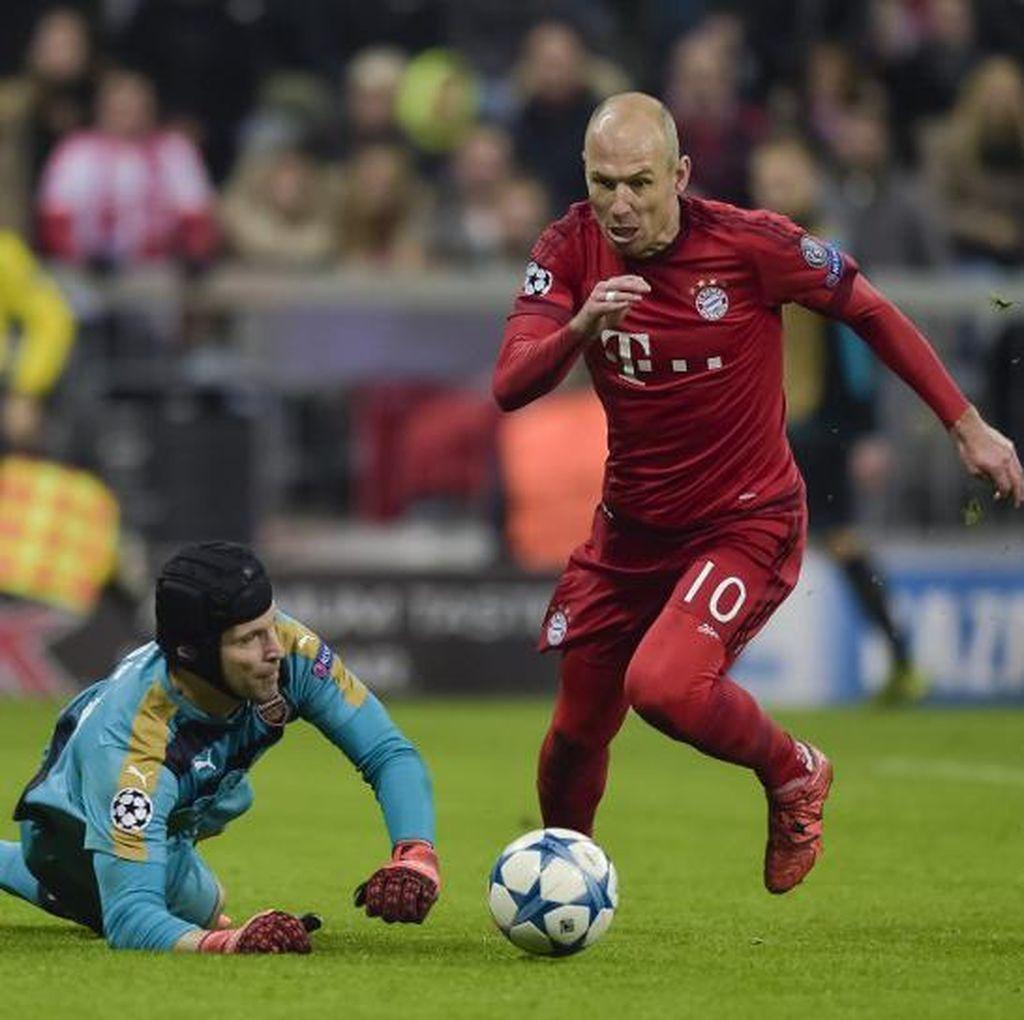 Robben: Arsenal Kini Lebih Kuat dari Musim Lalu