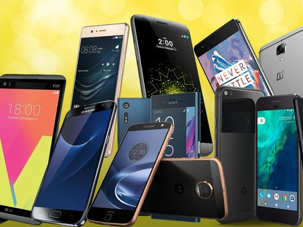Lima Penguasa Pasar Ponsel Dunia Q4 2019