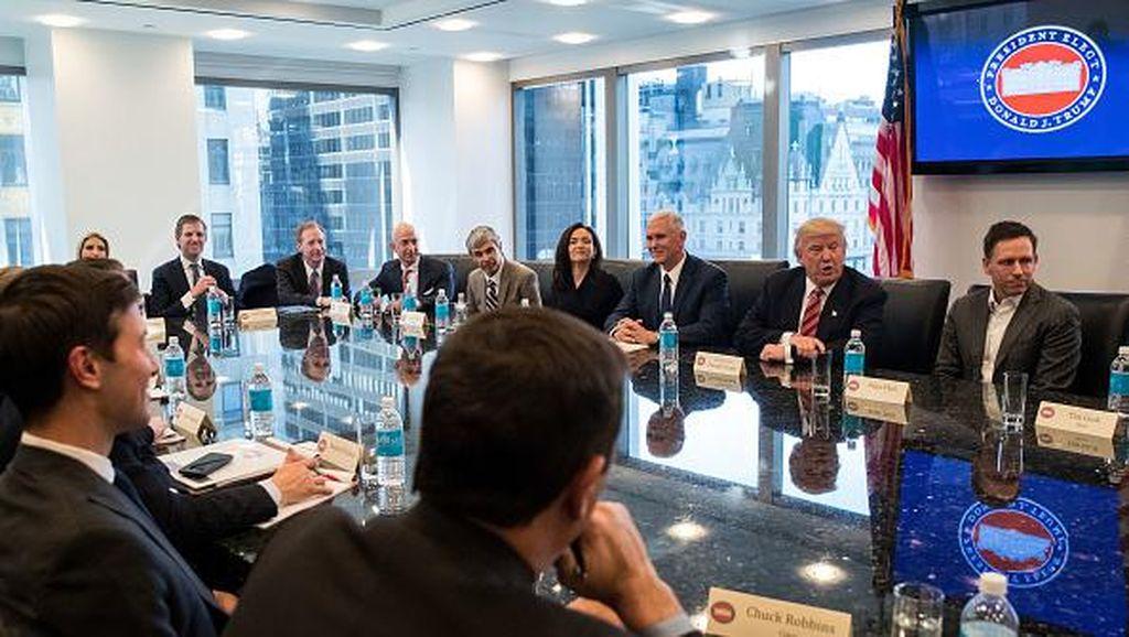 Trump Kumpulkan Manusia Terkaya & Berkuasa di Jagat Teknologi