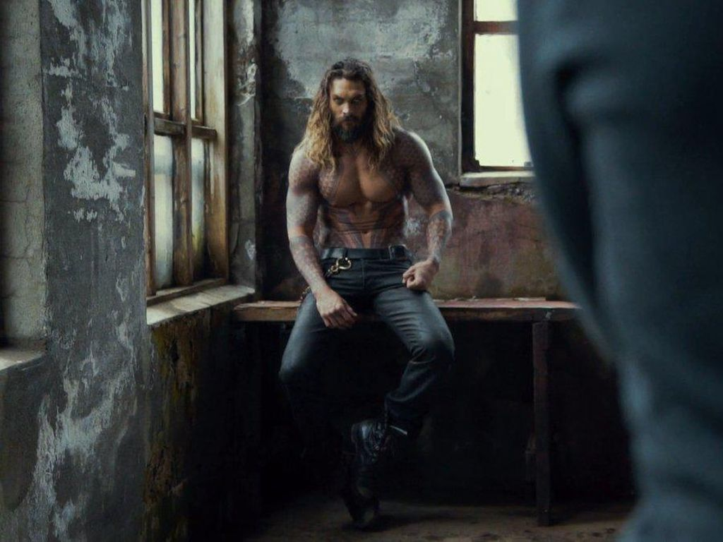 Garangnya Jason Momoa di Justice League