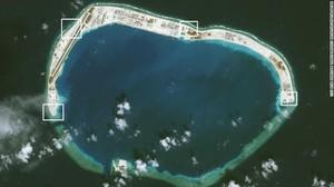 China Pasang Peluncur Roket di Laut China Selatan
