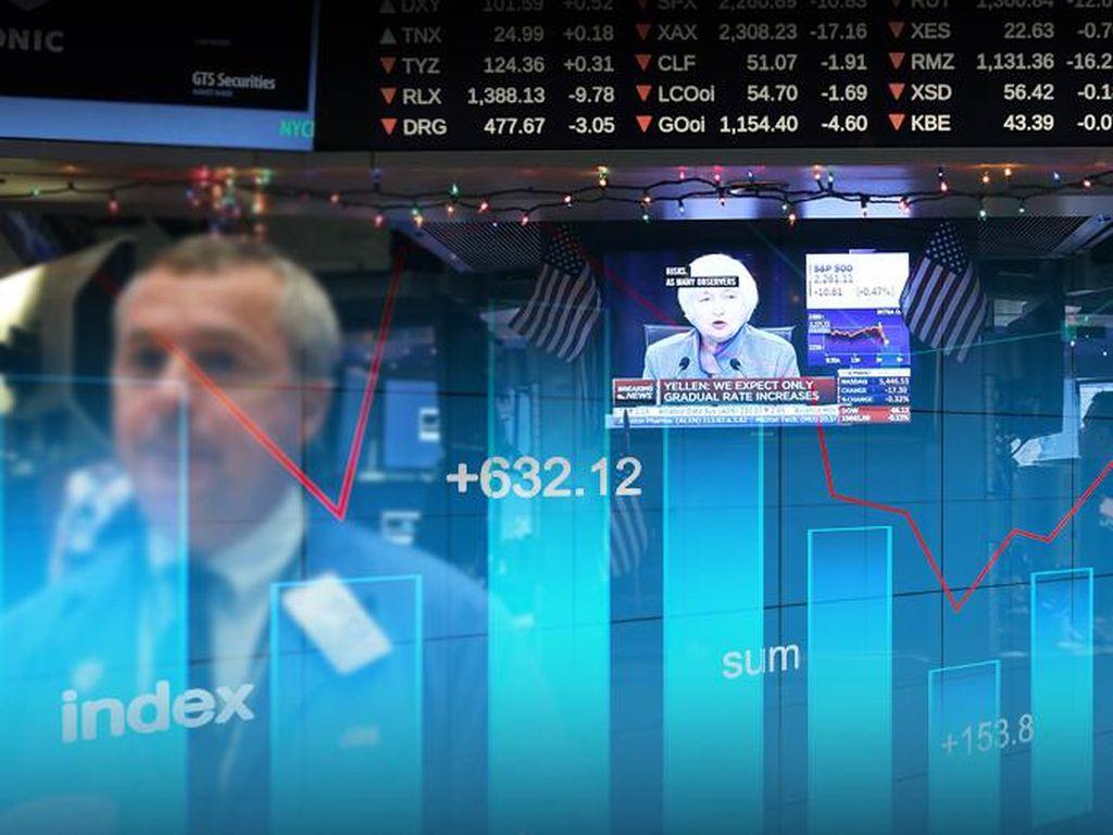 Tangkis Corona, The Fed Kemungkinan Pangkas Bunga Sampai 0%
