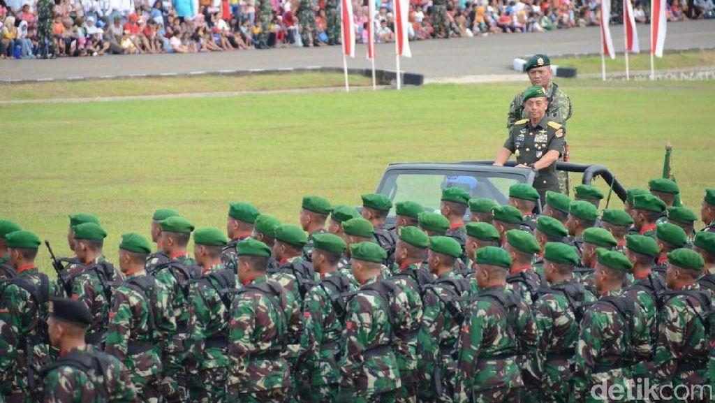 TNI AD Siap Ikut Berantas Terorisme Jika RUU Digolkan