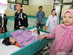 20 Jam Operasi, Bayi Kembar Dempet Pinggul Devina dan Devani Berhasil Dipisahkan