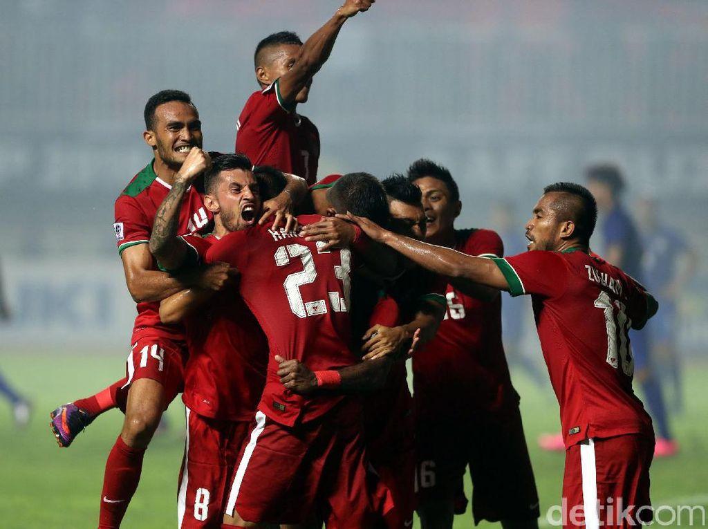Indonesia Selalu Bikin Dua Gol, Lilipaly: Semoga Begitu Lagi di Bangkok