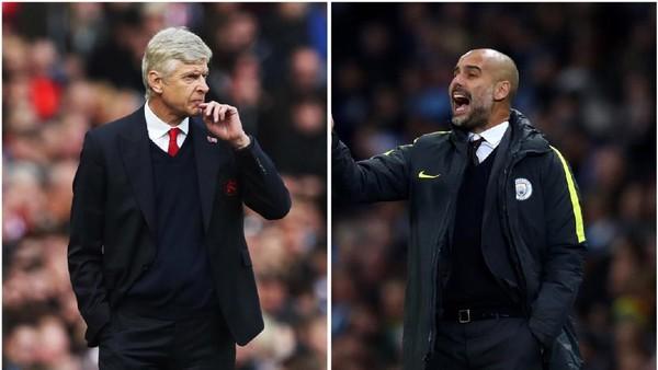 Wenger Tantang Guardiola Agar Suguhkan Perlawanan Sengit Demi Penonton
