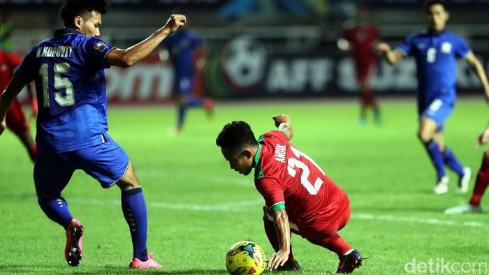 Pemain timnas Indonesia, Andik Vermansah. (Foto: Rachman Haryanto/detikcom)