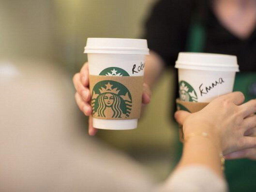 Saham Starbucks Indonesia Turun Terus