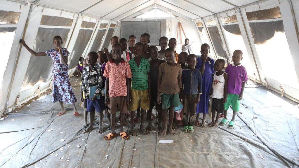 Potret Kehidupan Pengungsi Sudan