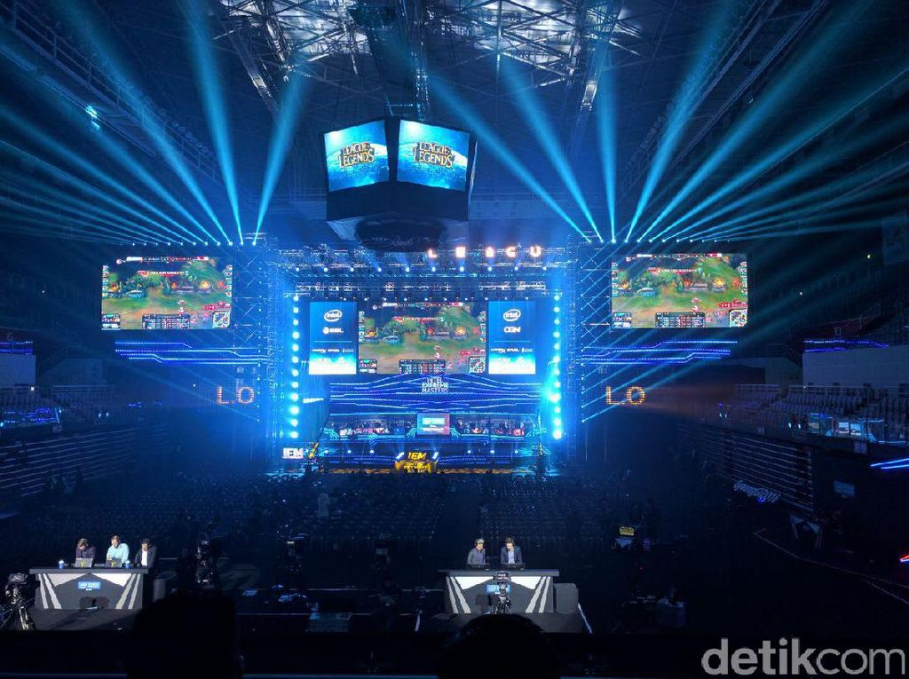 Megahnya Turnamen Intel Extreme Masters di Korsel