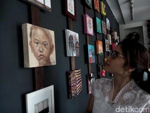 Lukisan Berbagai Aliran untuk Anak Penderita Kanker