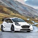 Ford Fiesta Siap Lahap Balap Reli Tahun Depan
