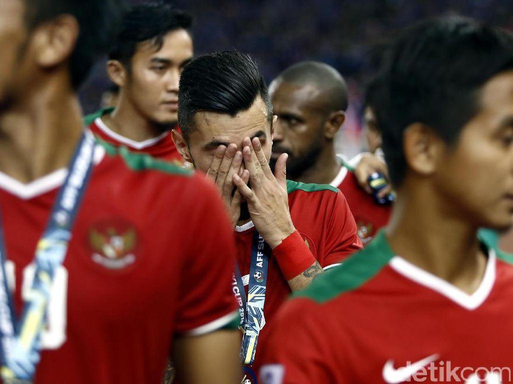 Lilipaly Minta Maaf dan Bertekad Boyong Trofi Piala AFF Suatu Hari Nanti