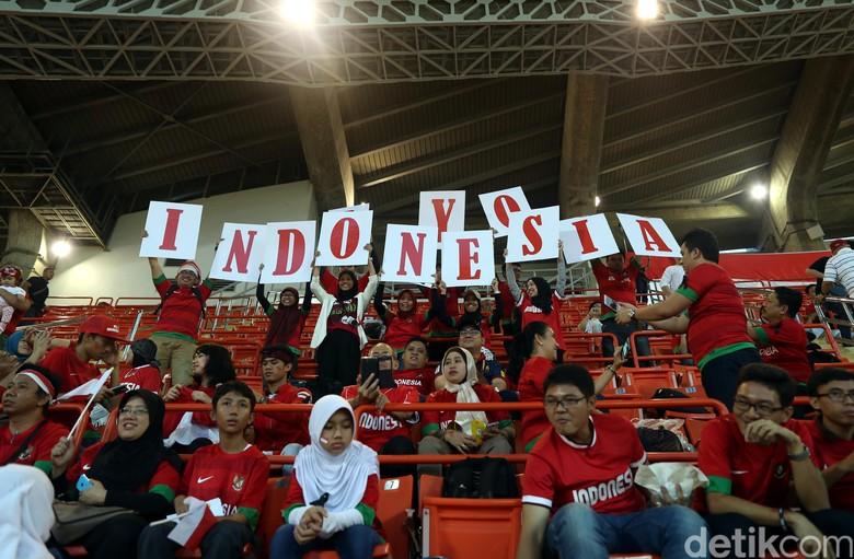 Suporter Indonesia Siap Dukung Skuat Garuda Raih Juara