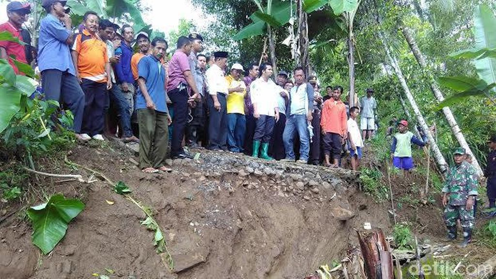Ini Langkah Pemkab Trenggalek Terkait Pergerakan Tanah di Kecamatan Panggul