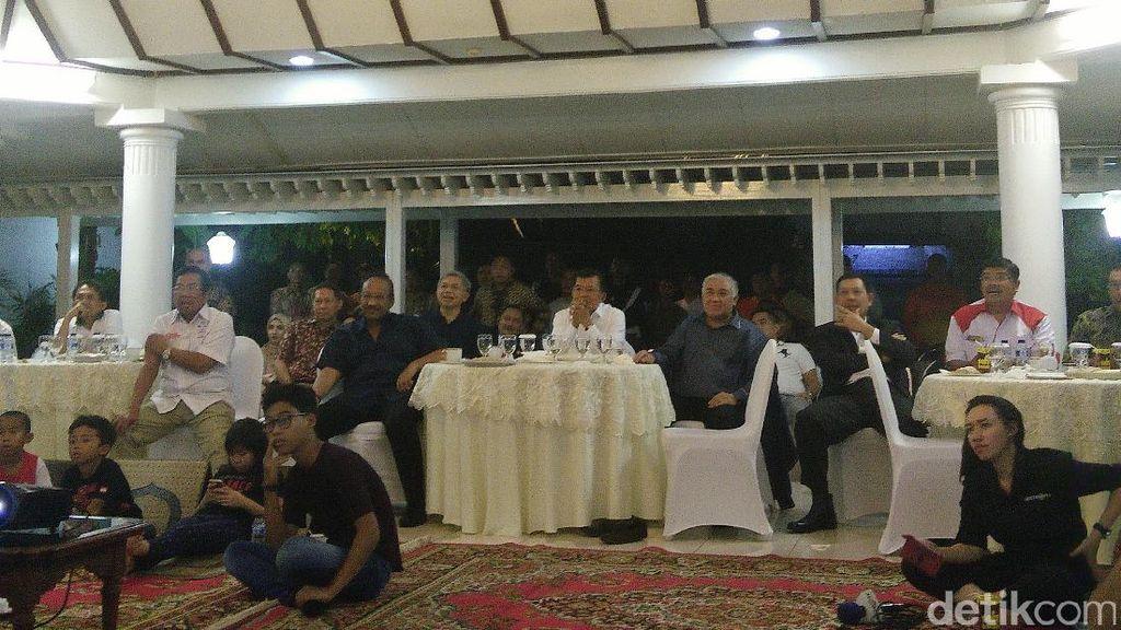 Wapres JK Nobar Bareng RJ Lino Tersangka Kasus Crane, Ini Kata KPK