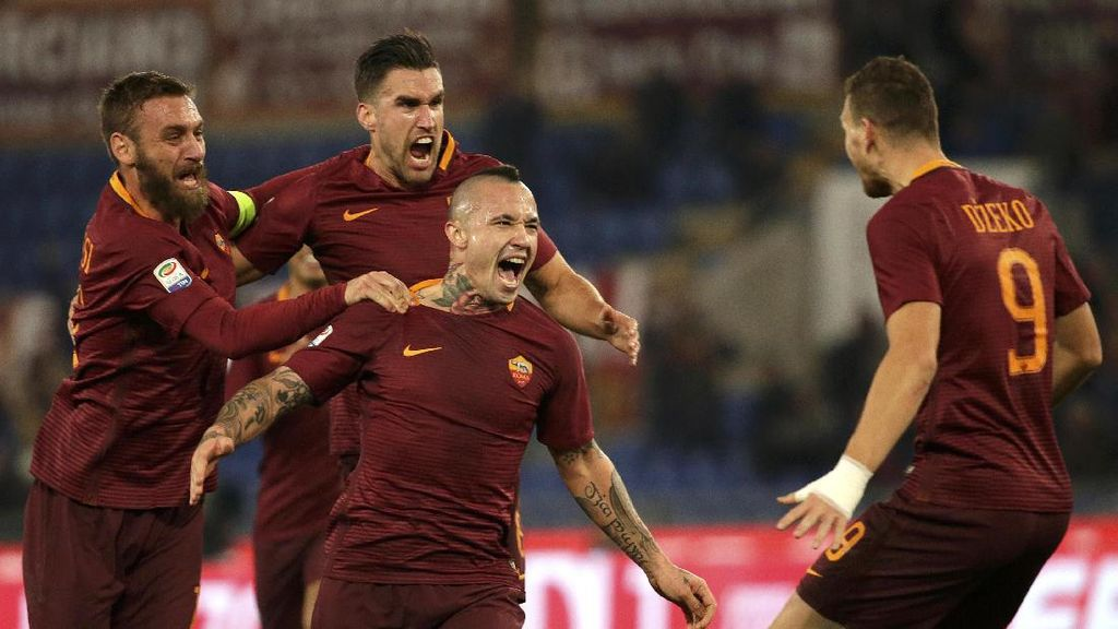 Bertemu Lyon di Babak 16 Besar, Roma Disebut Kurang Beruntung