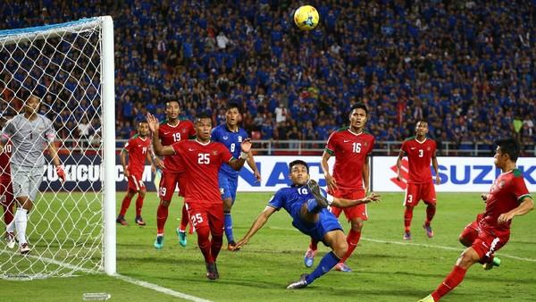Indonesia Gagal Jaga Tren Dua Gol, Thailand Memang Beda