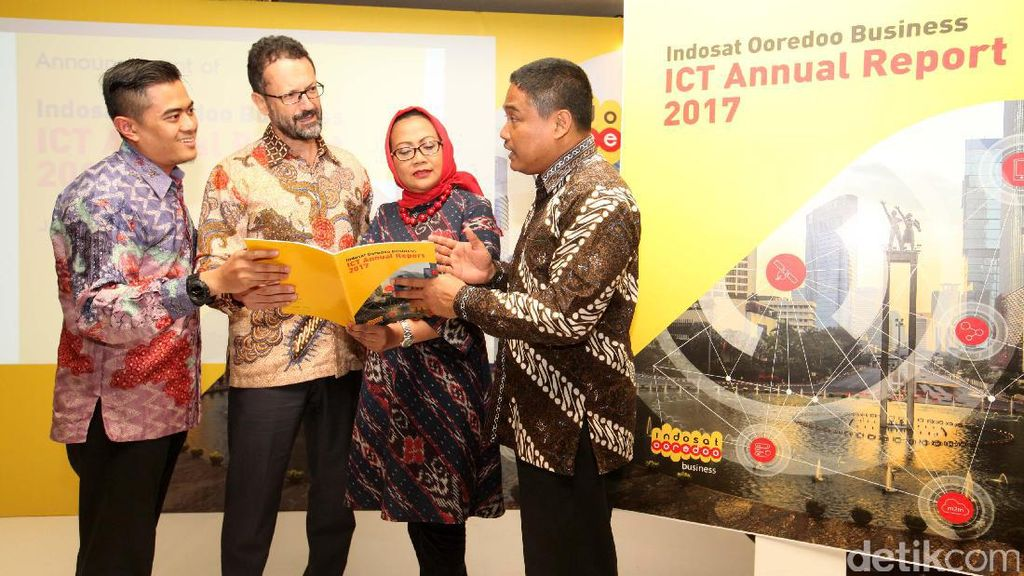 Indosat Ooredoo Luncurkan Business ICT Annual Report 2017
