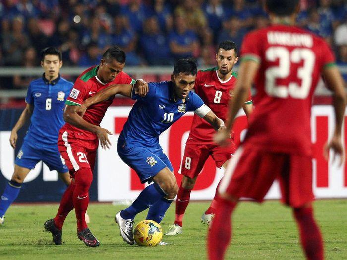 Aksi pada salah satu Indonesia vs Thailand. (Foto: Athit Perawongmetha/Reuters)