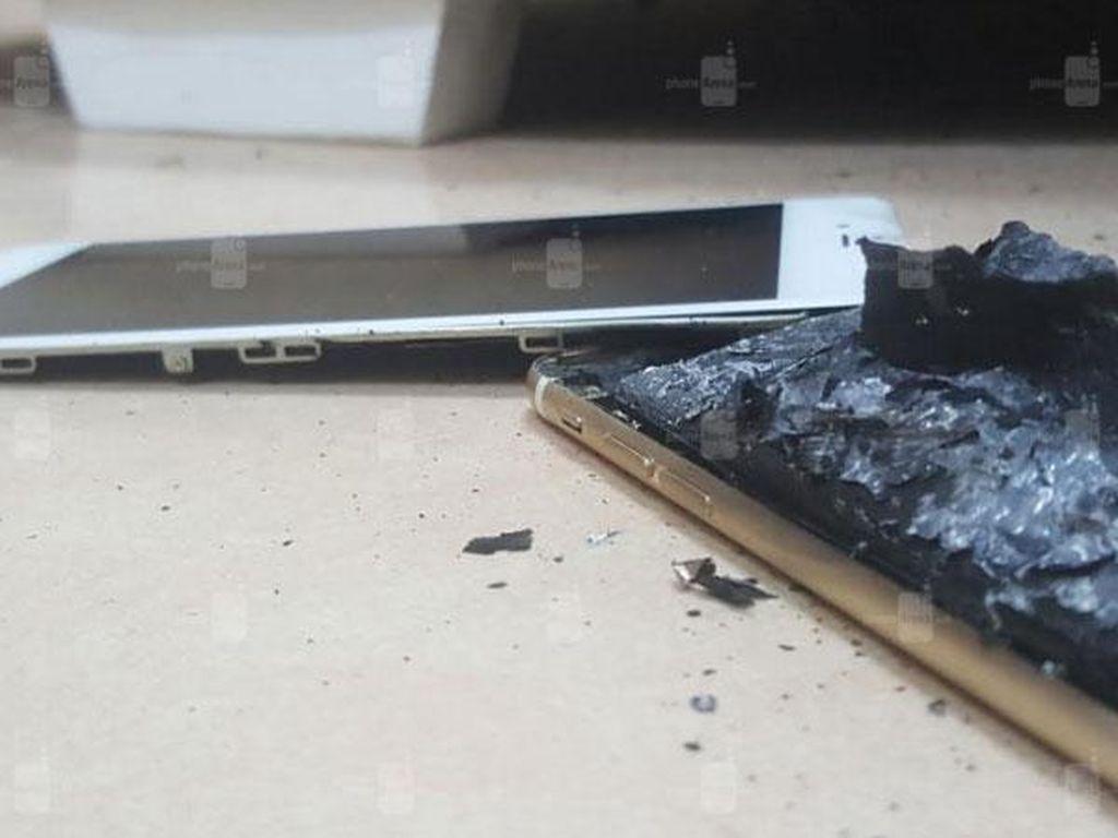 Duh, iPhone 6s Meledak di Kandang Samsung