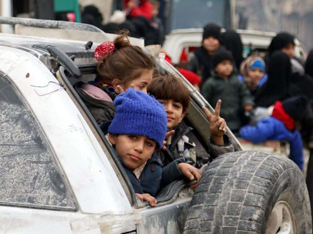 Evakuasi di Aleppo Telah Tuntas