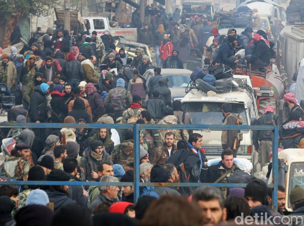 Terkait Aleppo, KBRI Damaskus: Kondisi WNI di Suriah Aman