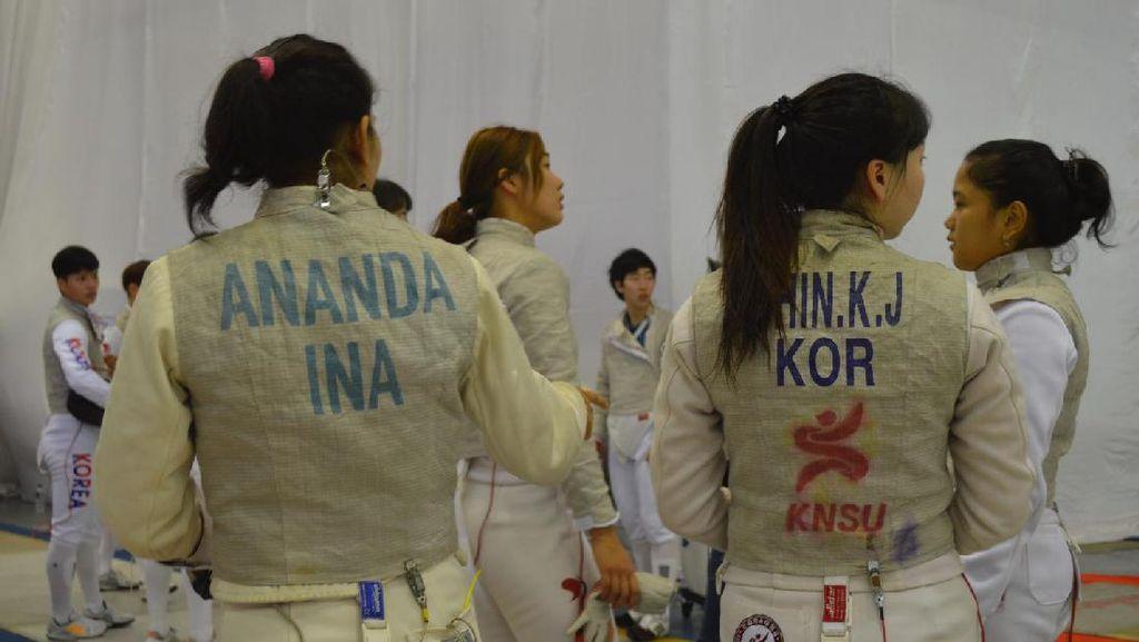 Timnas Anggar Indonesia Latih Tanding dengan Timnas Anggar Korea