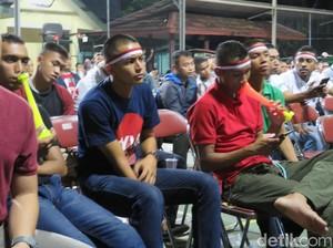 Timnas Kalah, Peserta Nobar Kodam XVI Pattimura Pulang dengan Wajah Sedih