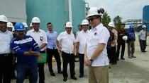Akhir Pekan Jonan di Riau: Berkacamata Hitam Resmikan PLTU Tenayan 2x110 MW