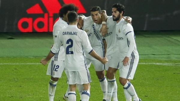 Ronaldo Trigol, Real Madrid Kalahkan Kashima Antlers di Final