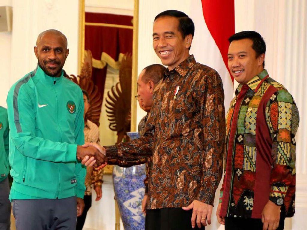Bonus Saat Santap Siang dan Ngobrol Santai Timnas Bersama Presiden Jokowi