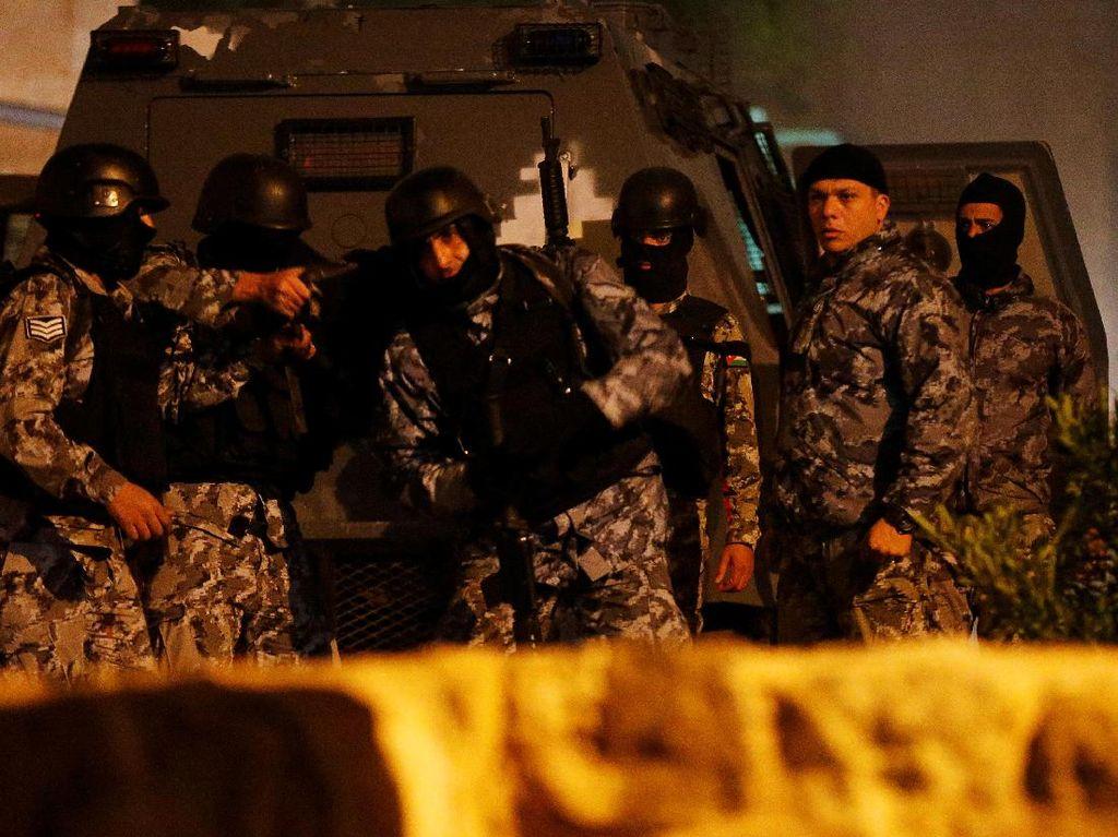 Bentrok di Yordania soal Anggota Parlemen, 4 Polisi Luka-luka