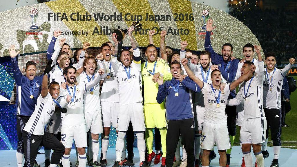 Real Madrid Juara Piala Dunia Antarklub 2016