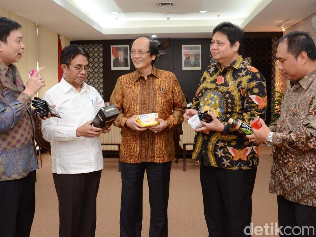 Menperin Bertemu Jajaran GarudaFood Group