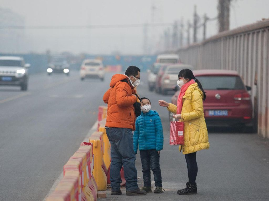 Usai Lockdown, Udara di China Balik Lagi Diselimuti Polusi