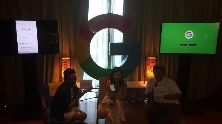 Suasana peluncuran #SelauTauYangSeru Google App di Bali (Fitraya/detikTravel)